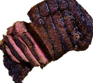 Coffee and Chili Rubbed Rib-Eye Steak