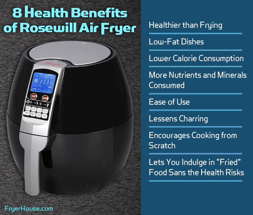 Rosewill Air Fryer Health Benefits