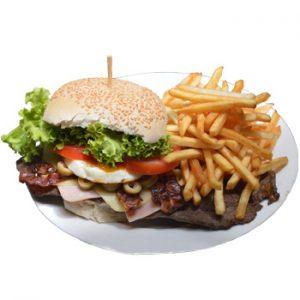 T-fall Air Fryer Burger