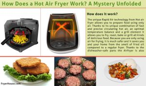 How Does a Hot Air Fryer Work