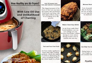 How Healthy are Air Fryers? With Low Oil Use and Unlikelihood of Charring