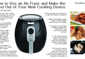 How to Use an Air Fryer and Make the Most Out of Your New Cooking Device