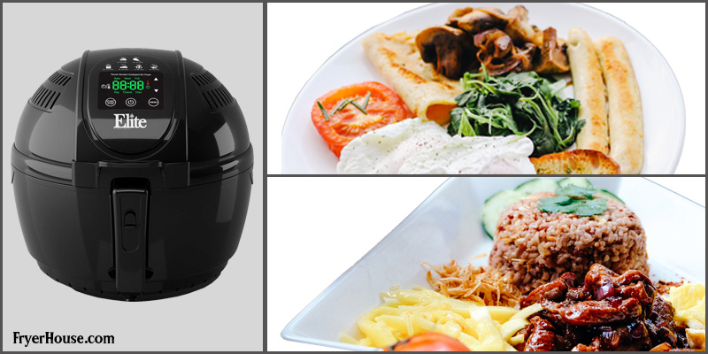 Elite Platinum EAF-1506D Air Fryer