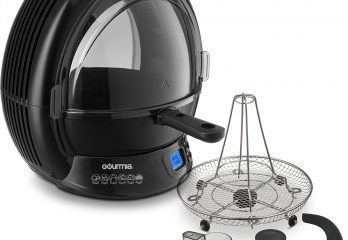 Gourmia GMF2600 Air Fryer Review: Eye-Catching Looks, Mouth-Watering Taste