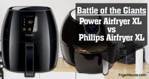 Power Airfryer XL vs Philips Airfryer