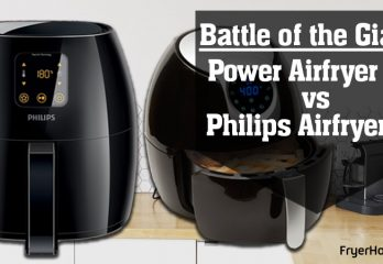 Power Airfryer XL vs Philips Airfryer: Battle of the Giants – Fryer House