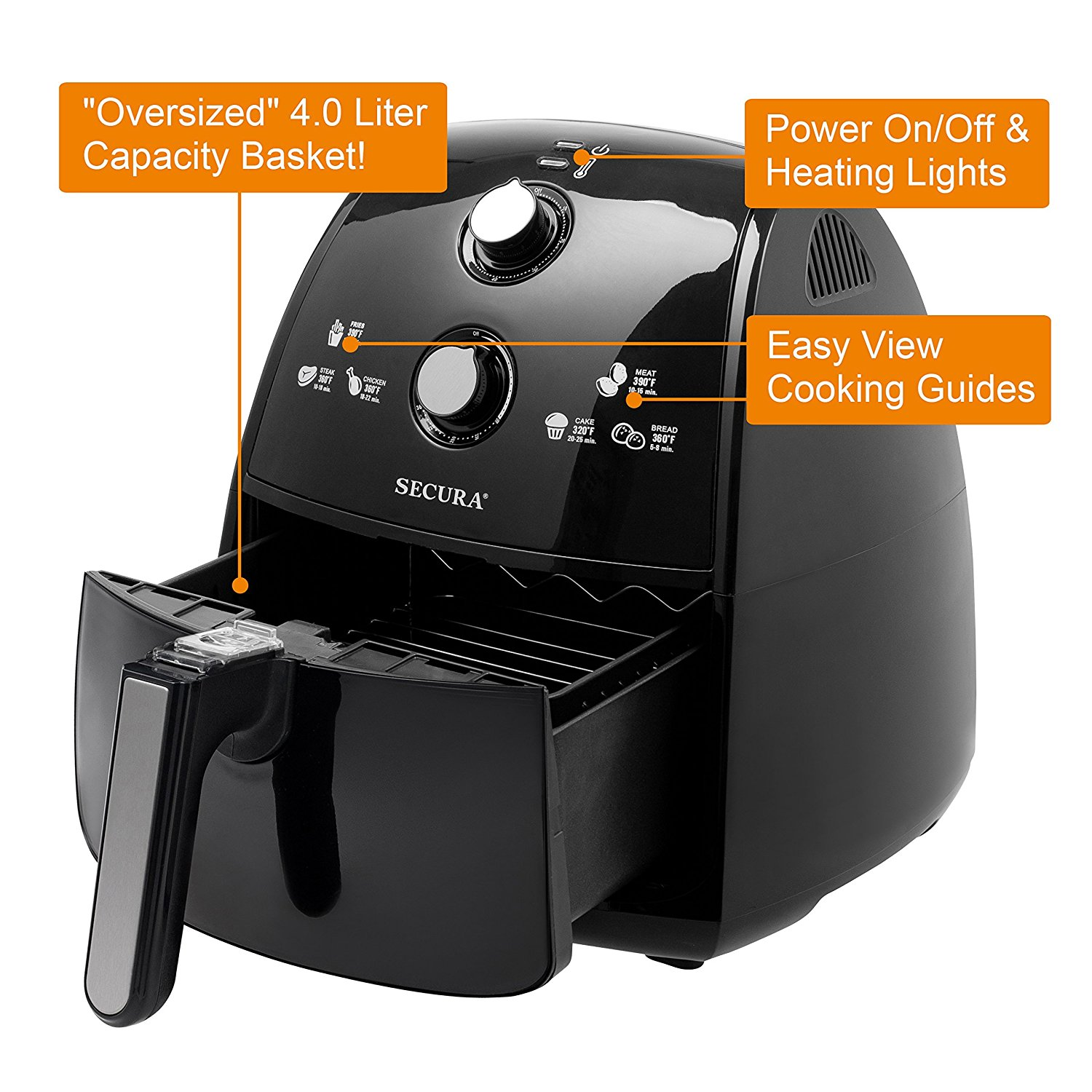 Secura Air Fryer Review: Best Budget Air Fryer in the