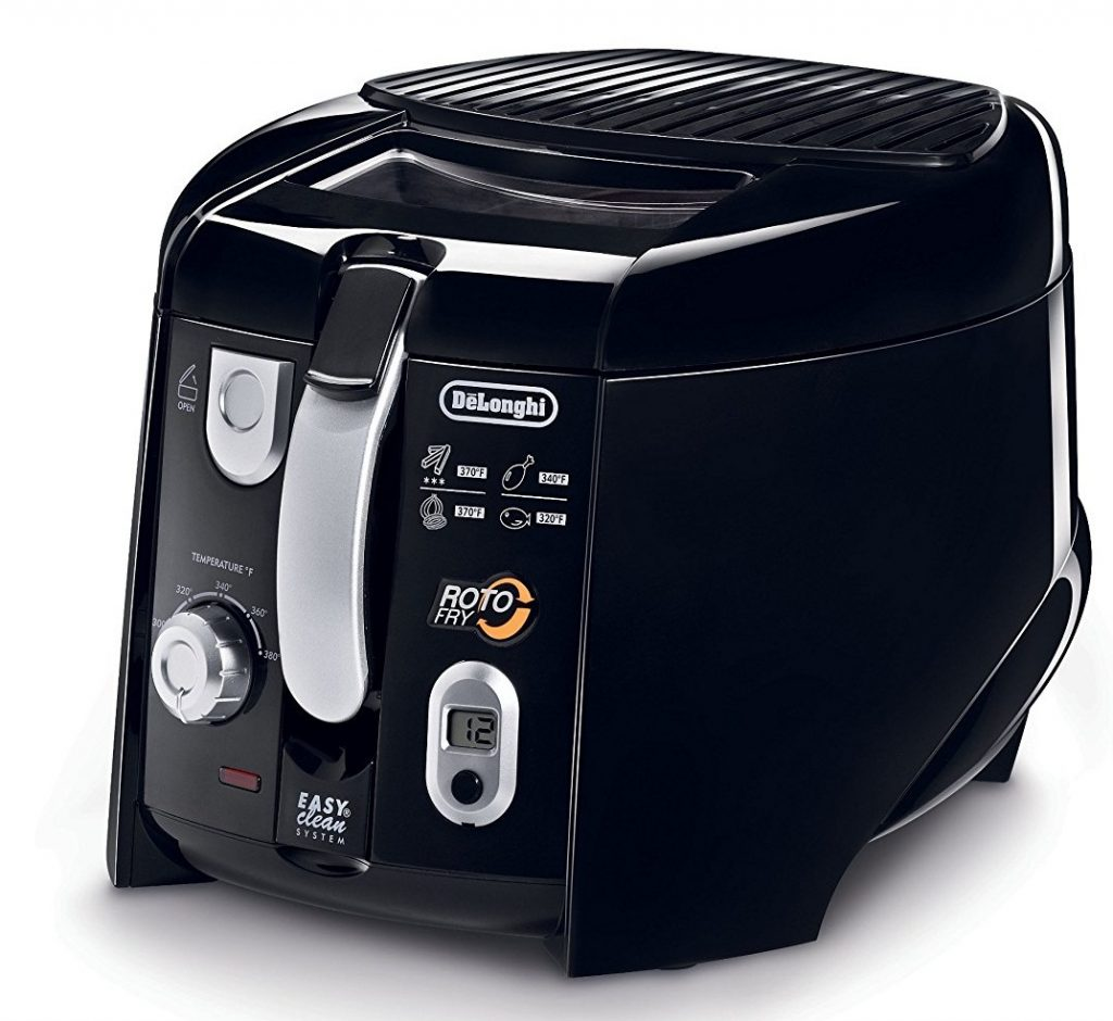 DeLonghi D28313UXBK Roto Deep Fryer Review