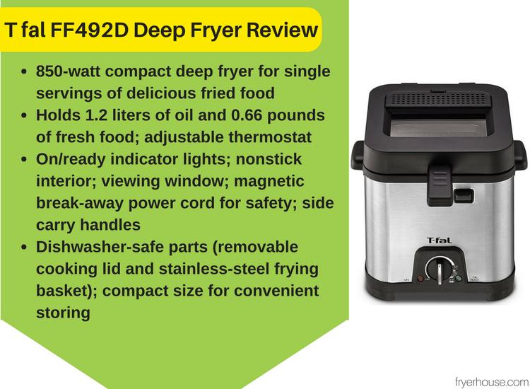 T fal FF492D Deep Fryer Reviews