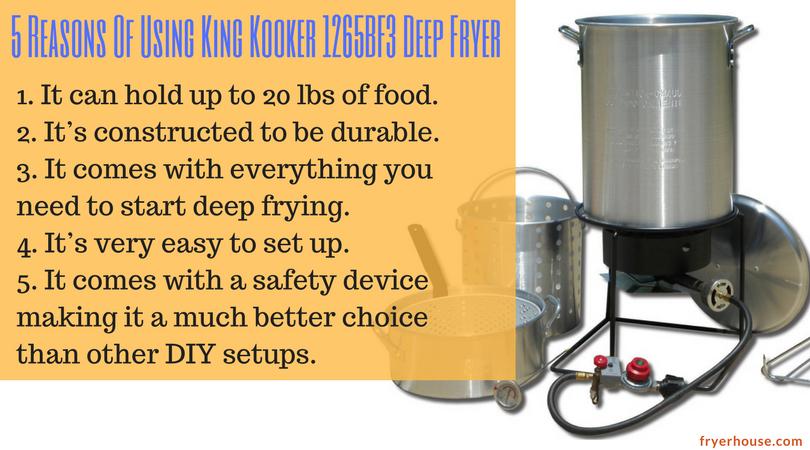 5 Reasons Of Using King Kooker 1265BF3 Deep Fryers