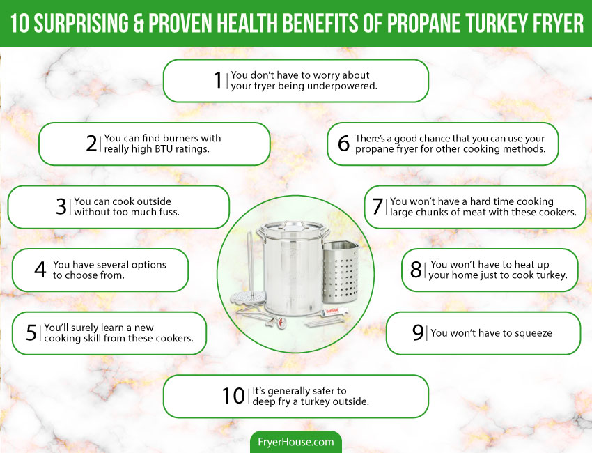 Benefits of Using a Propane Turkey Fryer