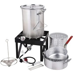 Cooper & Co Backyard Pro Deluxe 30 qt