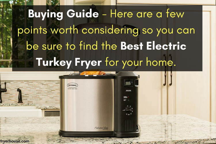 How to Choose the Best Electric Turkey Fryer
