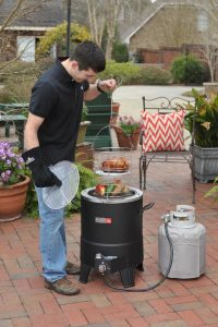 How to Season Oil-less Turkey Fryer
