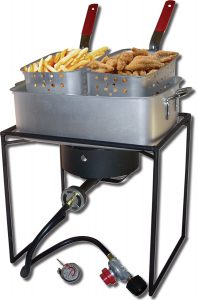 King Kooker 1618 Outdoor Deep Fryer Review