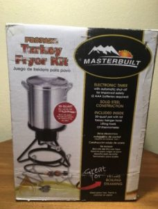 Masterbuilt 20020107 Propane Turkey Fryer