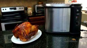 Masterbuilt 23011114 Butterball Indoor Electric Turkey Fryer Food