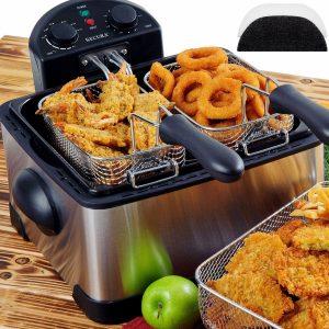 Secura 1700 Watt Stainless-Steel Electric Deep Fryer Review