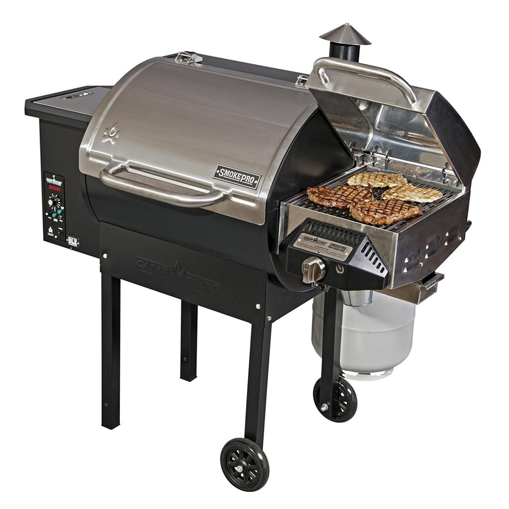 Camp Chef SmokePro DLX PG24S Electric Pellet Smoker Review