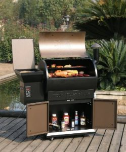 Electric Pellet Smoker Grill
