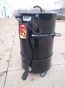 PitmasterIQ IQ110 BBQ Temperature Regulator Kit for Pit Barrel Cooker