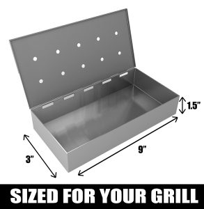Smoker Box for BBQ Grill Wood Chips Review