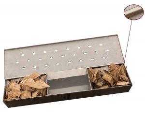 V Shaped Smoker Box Large