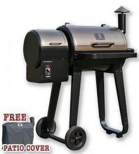 Z GRILLS ZPG-450A Wood Pellet Barbecue Grill And Smoker