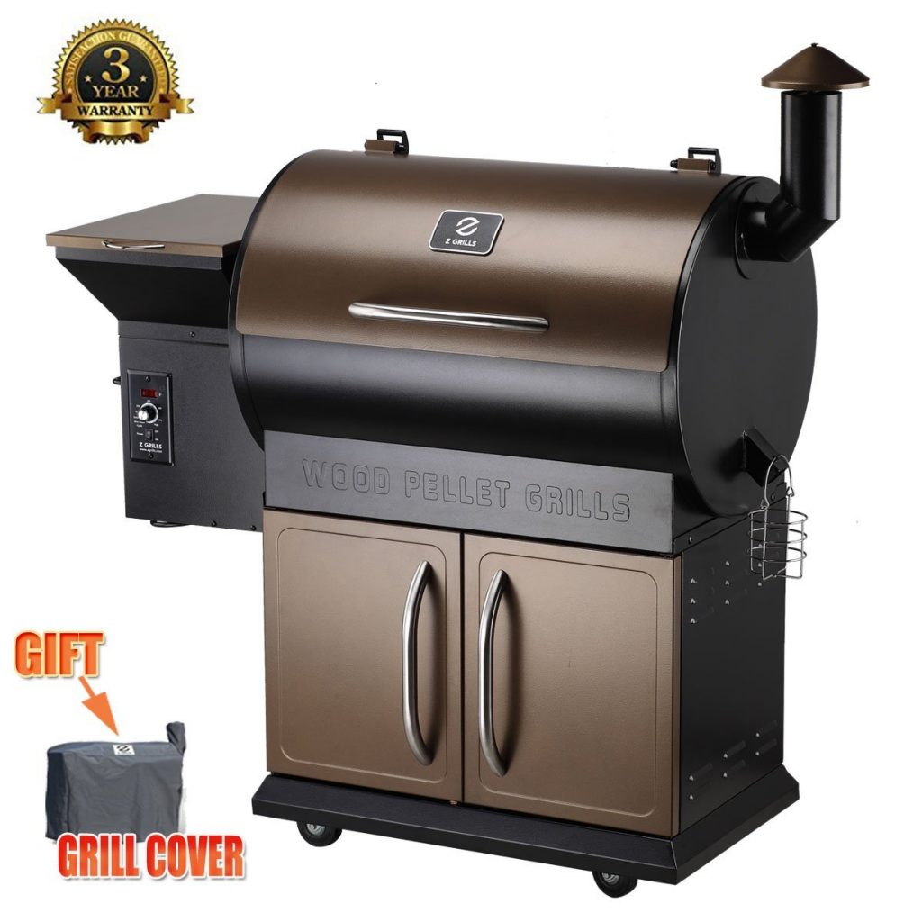 Z Grills Wood Pellet Grill & Smoker review