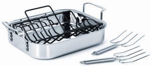 Calphalon Tri-Ply Stainless Steel roasting pan