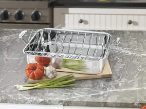 Cuisinart Chef's 16-Inch Rectangular Roaster with Rack
