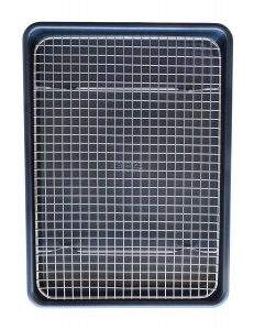 KITCHENATICS 100% Stainless Steel Wire Cooling and Roasting Rack