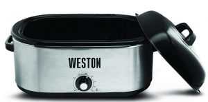 Weston 22 quart Stainless Steel Turkey Roaster Oven