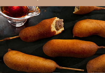 Easy Air Fryer Corn Dog Recipe | A Healthy Twist To a Classic Snack