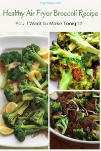 Air Fryer Broccoli Recipe