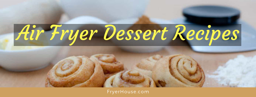 air fryer dessert recipes