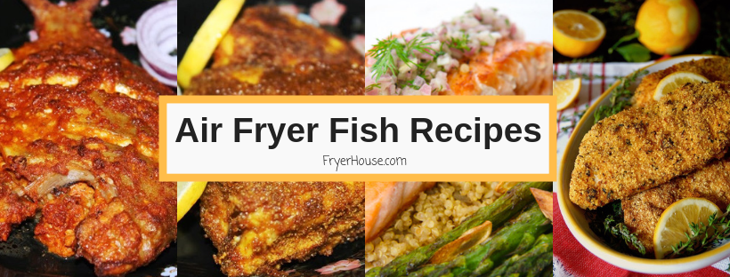 air fryer fish recipes