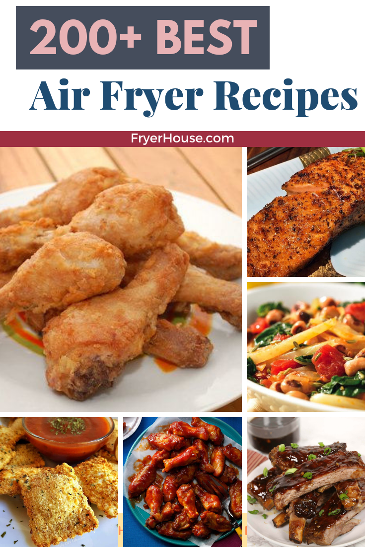 200+ Best Air Fryer Recipes