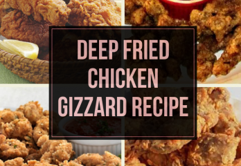 Deep Fried Chicken Gizzard Recipe | FryerHouse.com