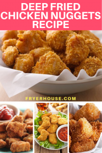 Deep Fried Chicken Nuggets Recipe