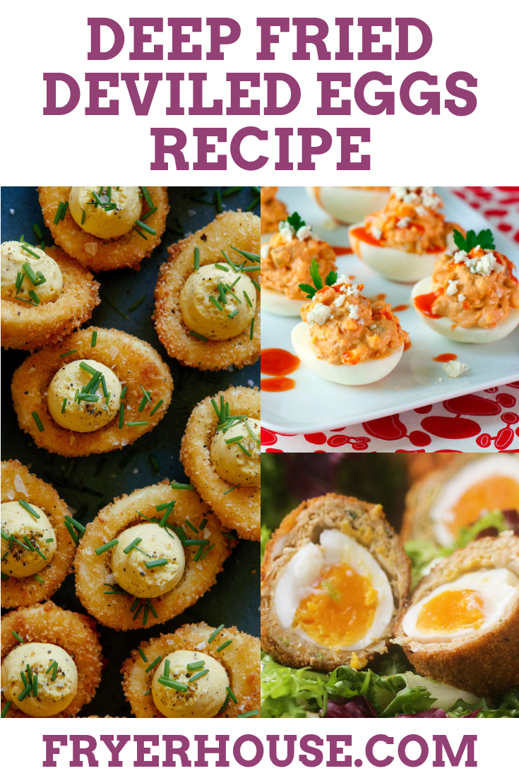 Deep Fried Deviled Eggs Recipe