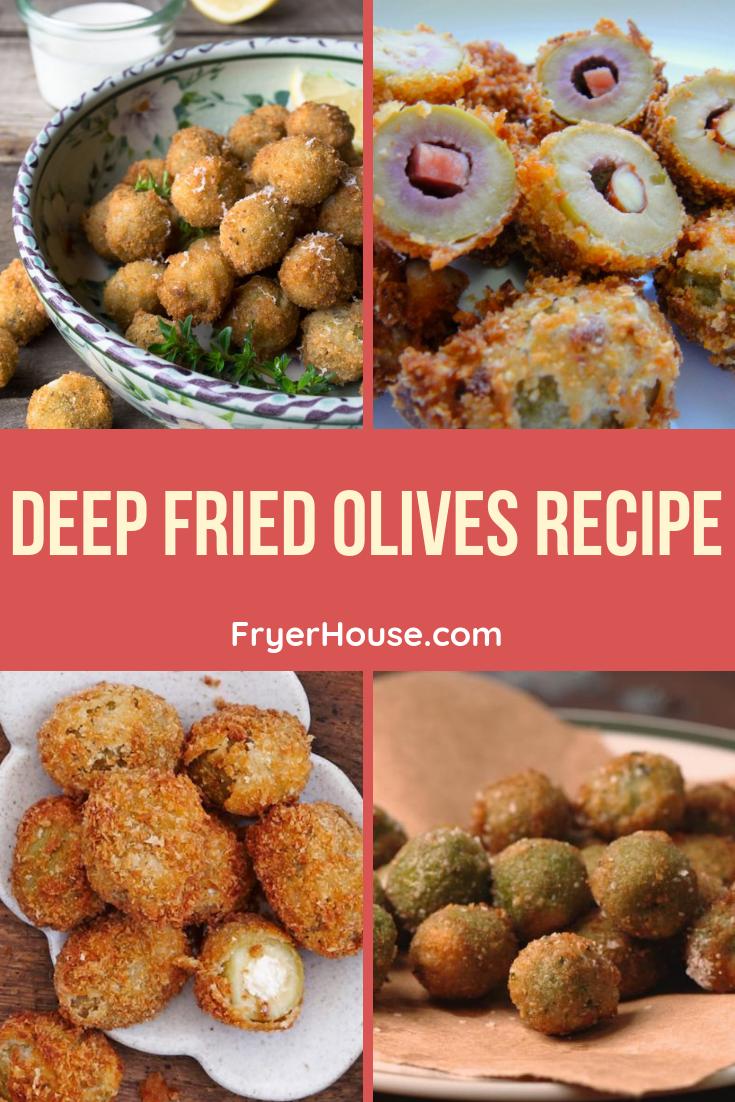 Deep Fried Olives Recipe