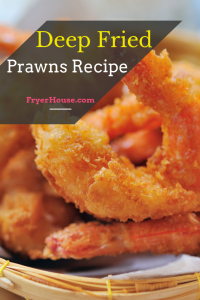 Deep Fried Prawns Recipe