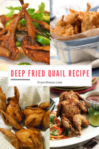Deep Fried Quail Recipe