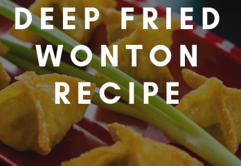 Easy Deep Fried Wonton Recipe | FryerHouse.com