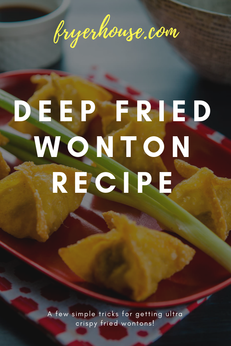 Deep Fried Wonton Recipe