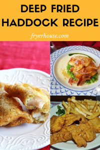 Deep Fried haddock Recipe
