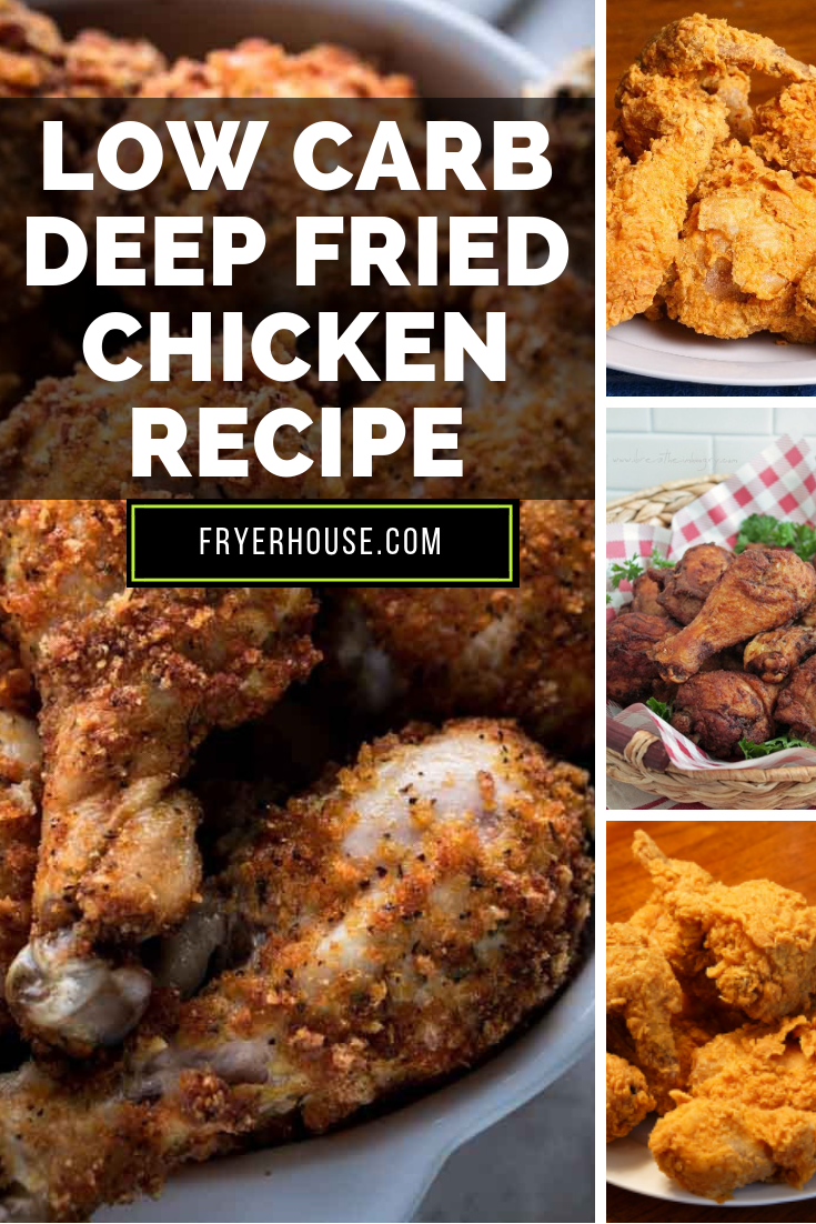 Low Carb Deep Fried Chicken Recipe