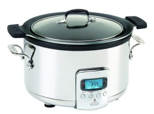 All-Clad SD712D51 4 Quart Deluxe Slow Cooker