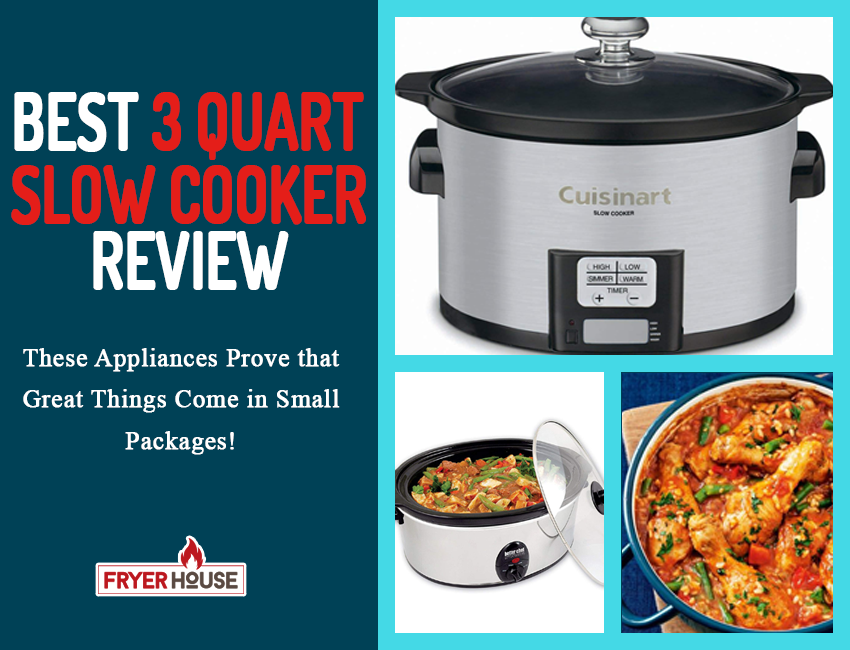 Best 3 Quart Slow Cooker Review